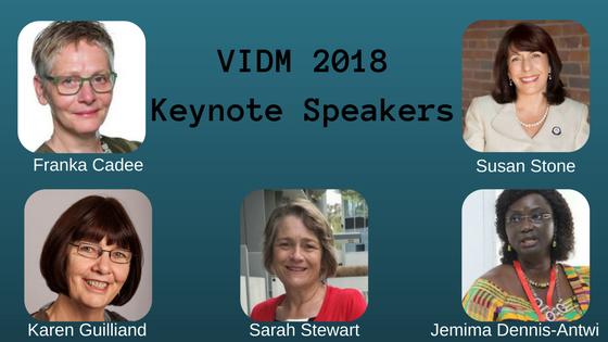VIDM 2018 KeynoteSpeakers